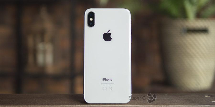 Тестирование камер iPhone X