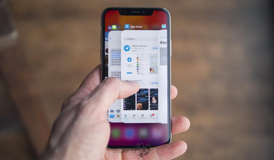 Жесты управления iOS в iPhone X - удобно ли?