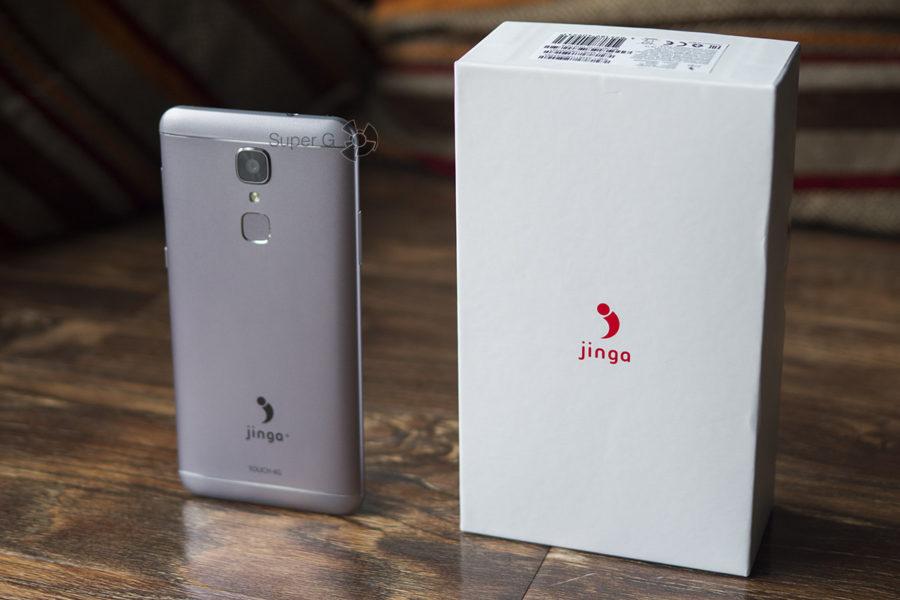 Распаковка Jinga Touch 4G