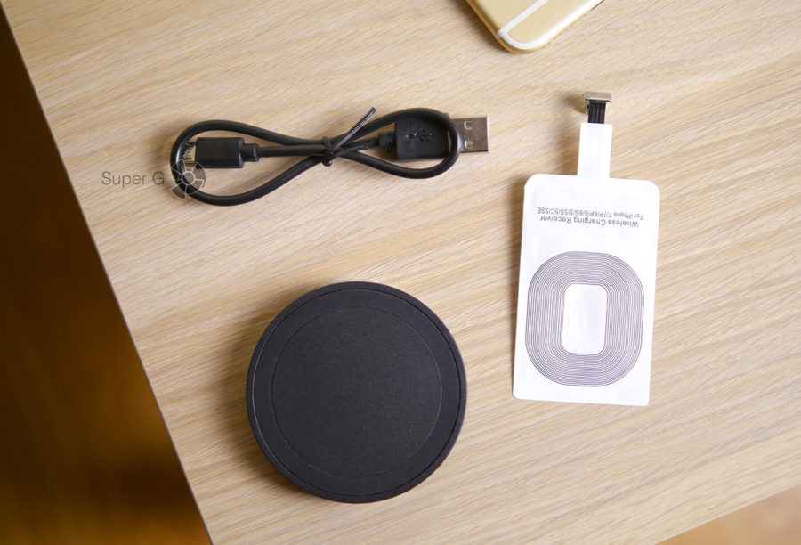 Беспроводная зарядка Qi для iPhone 6