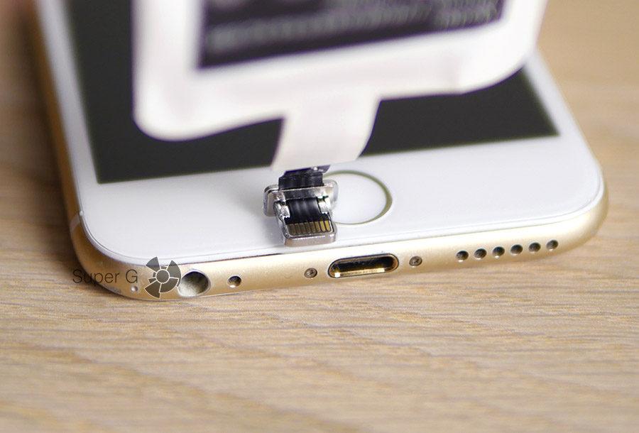 Беспроводная зарядка в iPhone 6