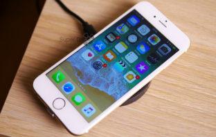 Qi беспроводная зарядка для iPhone 6