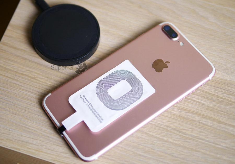 Беспроводная зарядка Qi для iPhone 7 Plus
