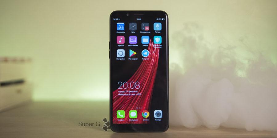 Обзор смартфона Oppo A83