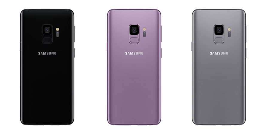 Samsung Galaxy S9 габариты