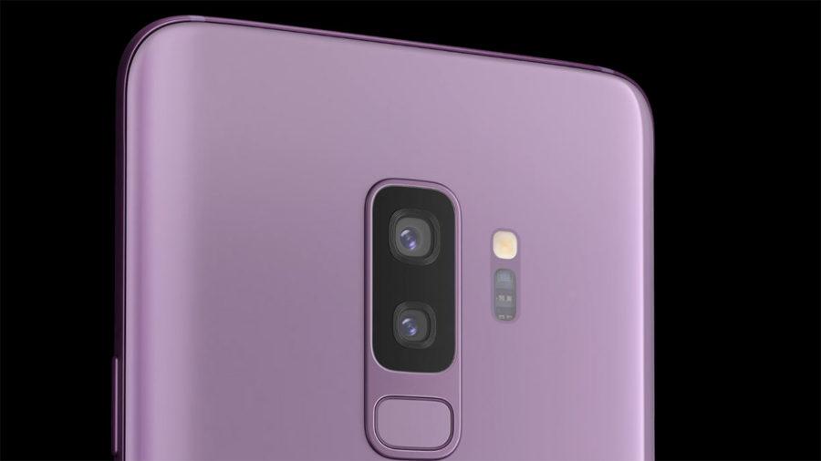 Samsung Galaxy S9+ камера