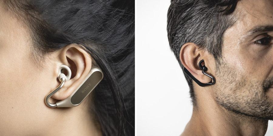 Внешний вид Xperia Ear Duo