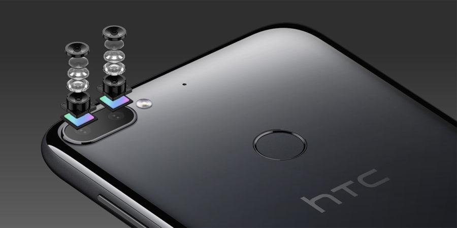 Двойная задняя камера HTC Desire 12 Plus