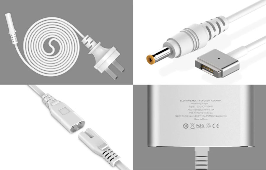 Elephone Anycharger Adapters