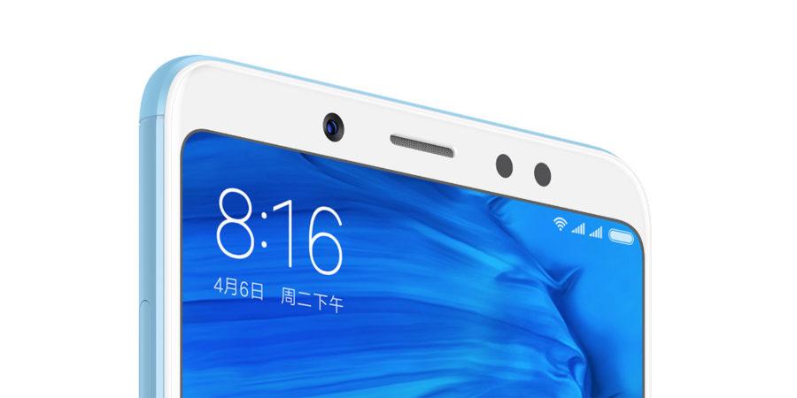 Фронтальная камера Xiaomi Redmi Note 5 китайской версии отличается от индийской
