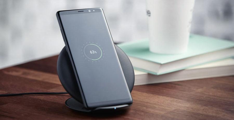 Беспроводная зарядка для Samsung Galaxy Note 8