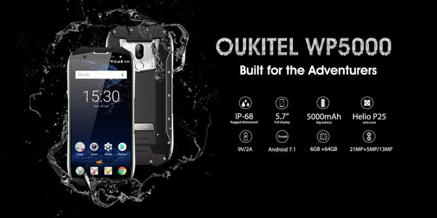 OUKITEL WP5000 технические характеристики (основные)