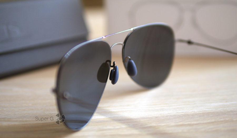 Мягкие подушечки для переносицы в очках Xiaomi TS Anti-UV Nylon Sunglasses