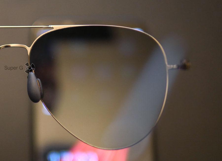 В Xiaomi TS Anti-UV Nylon Sunglasses отличный поляризационный слой
