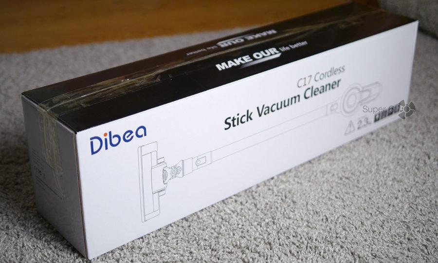 Коробка из-под Dibea C17