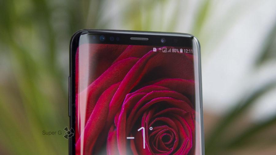 Фронтальная камера Samsung Galaxy S9 Plus умеет размывать задний фон