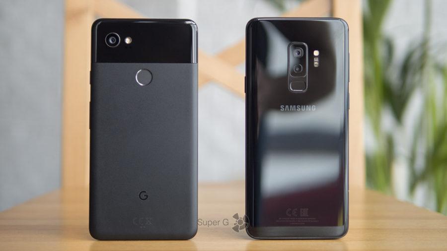 Качество снимков с Google Pixel 2 XL и Samsung Galaxy S9 Plus