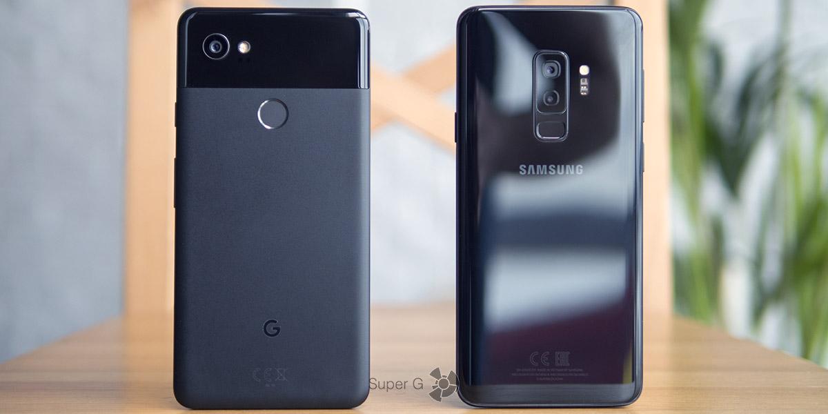 Сравнение камер Samsung Galaxy S9+ и Google Pixel 2 XL