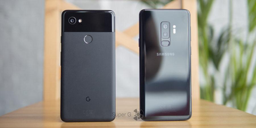 Сравнение фото Google Pixel 2 XL и Samsung Galaxy S9 Plus