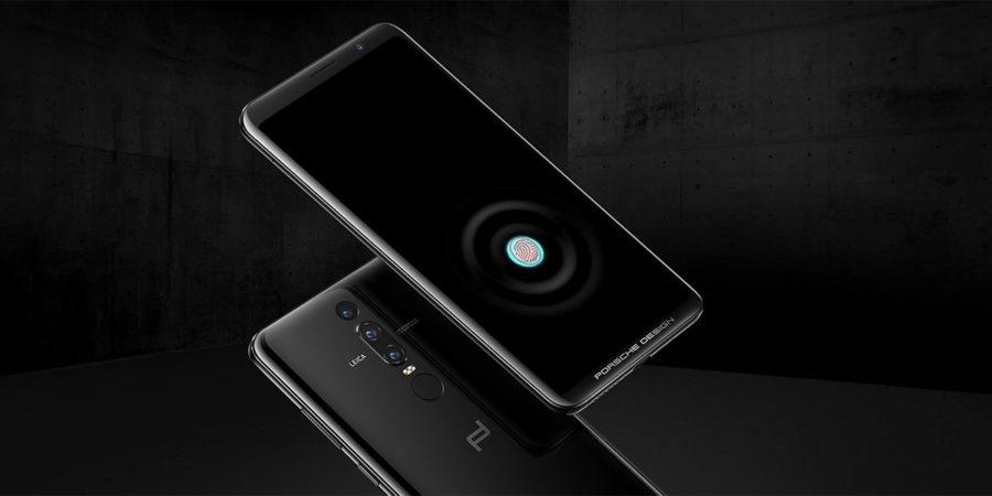 PORSCHE DESIGN HUAWEI Mate RS сканер отпечатков пальцев в дисплее