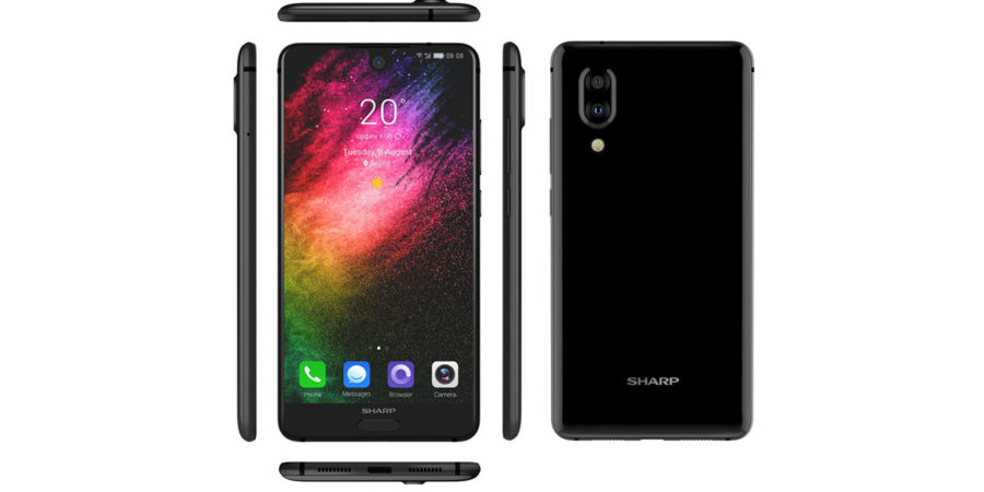 Так выглядит Sharp Aquos S2