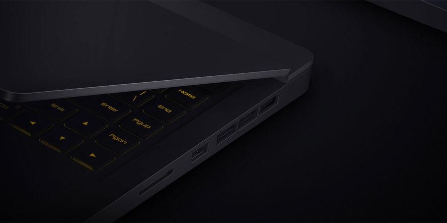 Xiaomi Mi Gaming Notebook 15.6 разъёмы и подключение