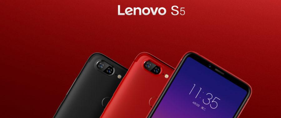 Цвета Lenovo S5