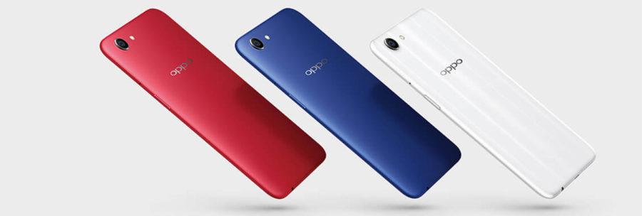 Цветовые варианты Oppo A1
