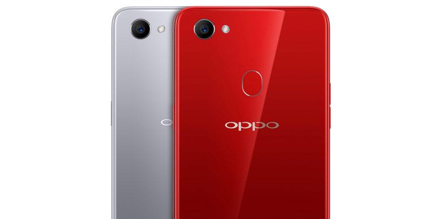 Задняя панель Oppo F7