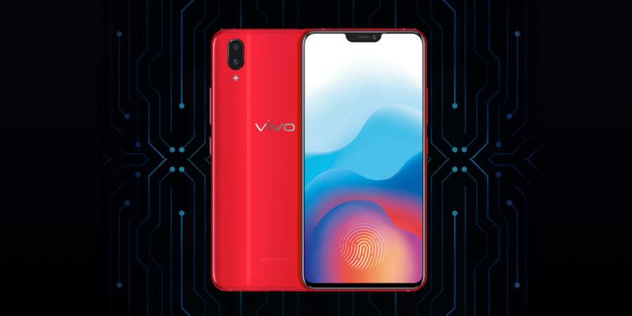 Vivo X21 Screen Fingerprint со сканером в экране
