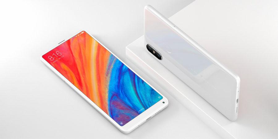 Белый Xiaomi Mi MIX 2S