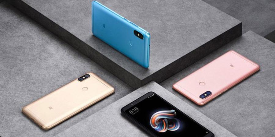 Цвета Xiaomi Redmi Note 5 Pro