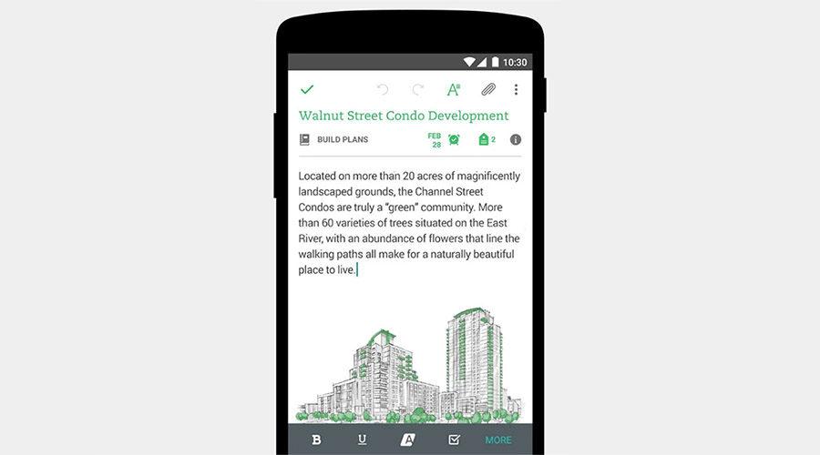Приложение Evernote для android и iOS скачать