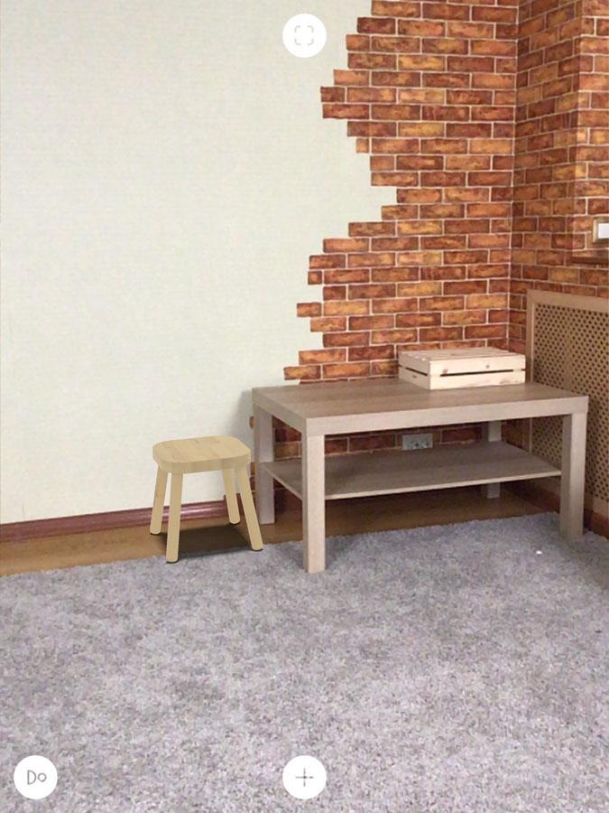Приложение IKEA Place для интерьера