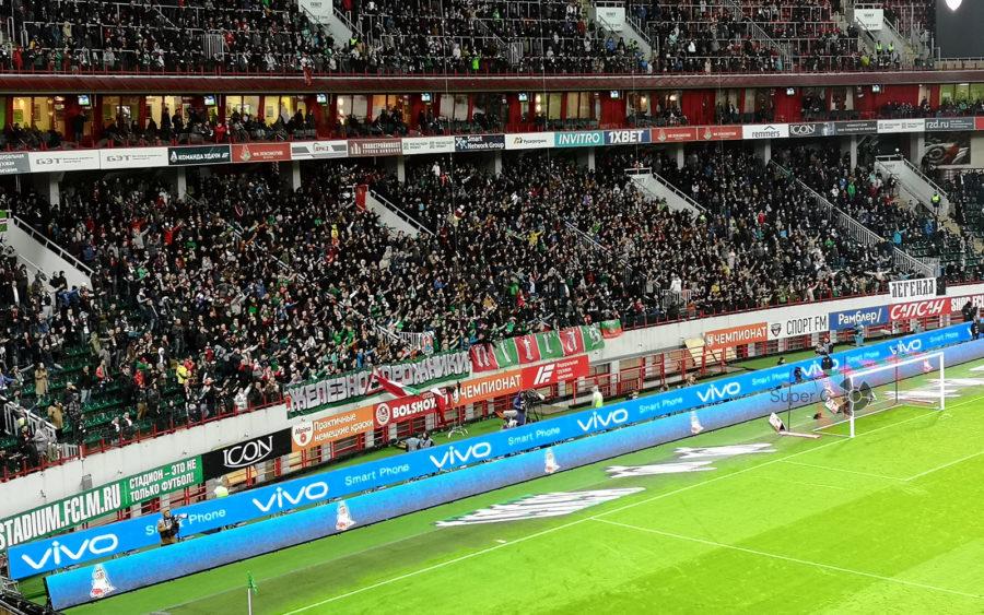 Матч Москва Локомотив - Ахмат при поддержке Vivo