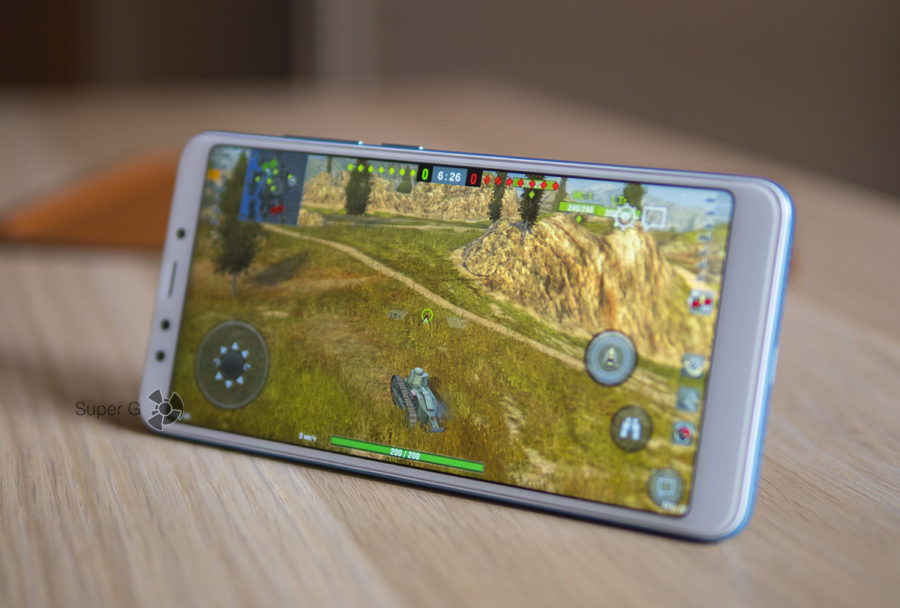 Игры для Xiaomi Redmi 5 - World of Tanks Blitz