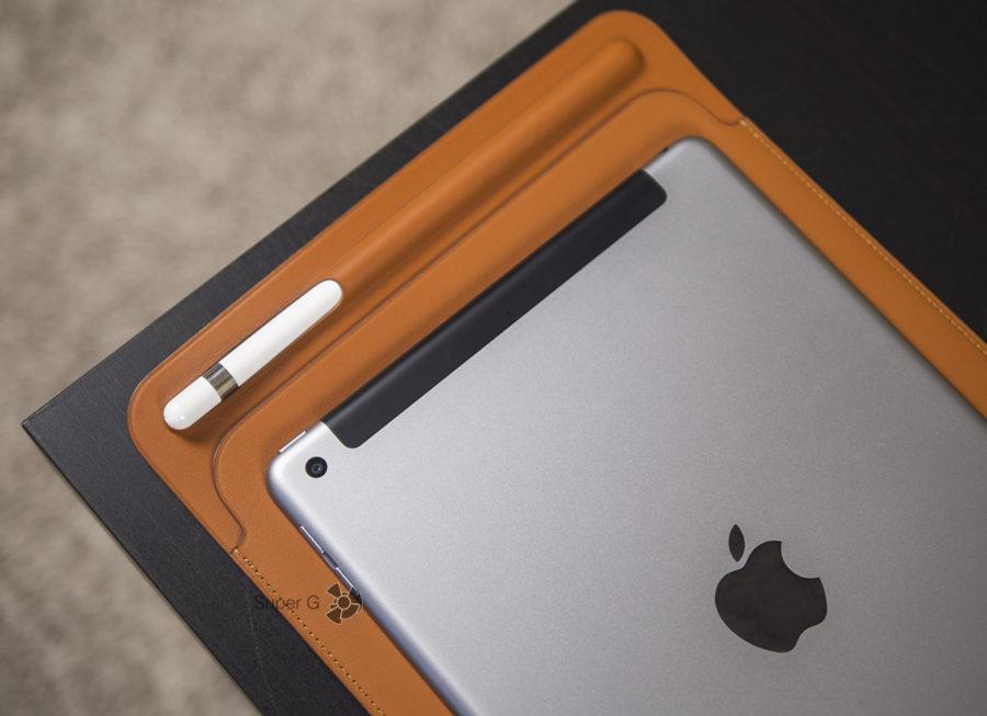 Специальный чехол для iPad 2018 и Apple Pencil
