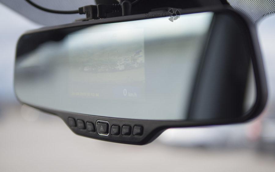 Кнопки и управление видеорегистратором Neoline G-TECH X27