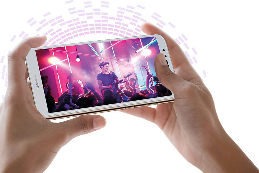 Huawei Y6 (2018) имеет неплохие звуковые возможности