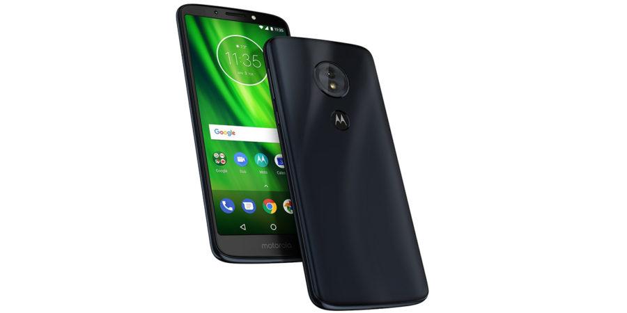Внешний вид Moto G6 Play