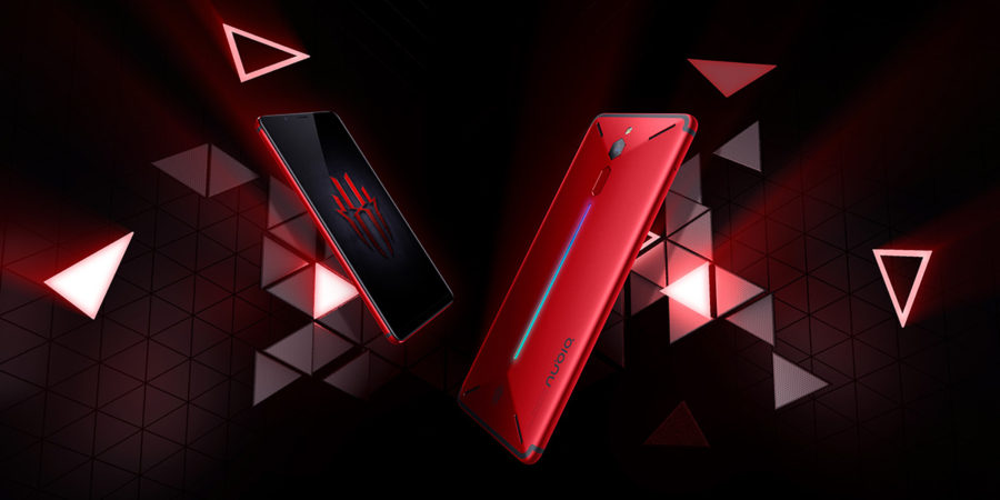 Красный Nubia Red Magic