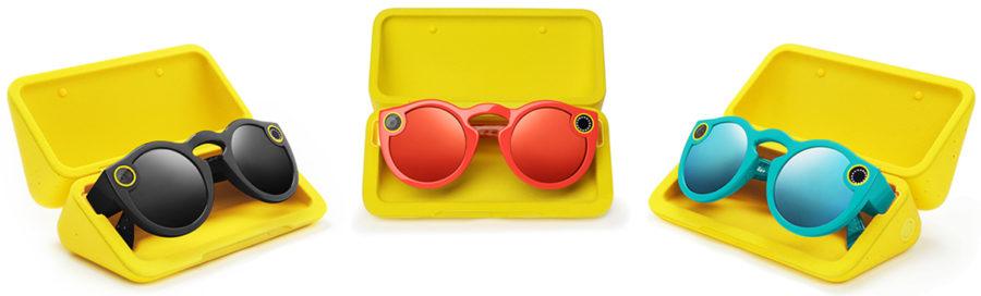 Цвета Snapchat Spectacles V2