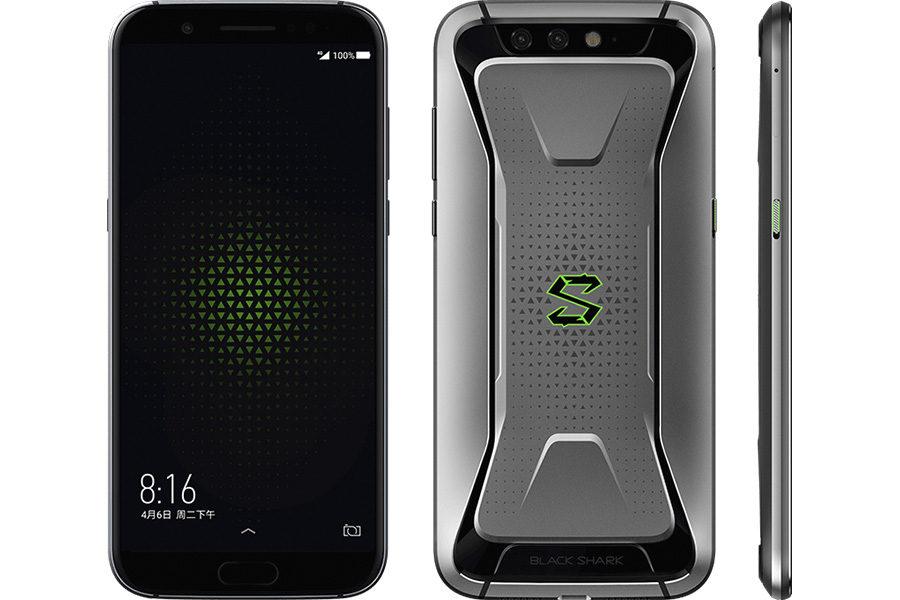 Дизайн Xiaomi Black Shark (серый цвет)