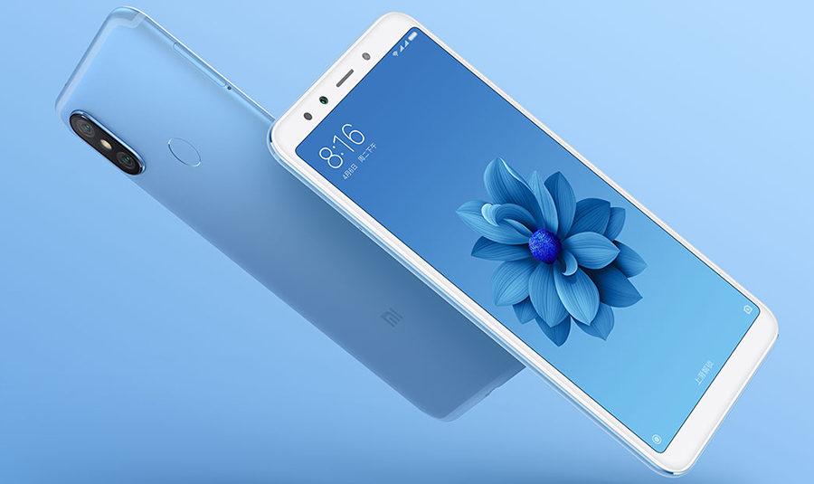 Голубой Xiaomi Mi 6X