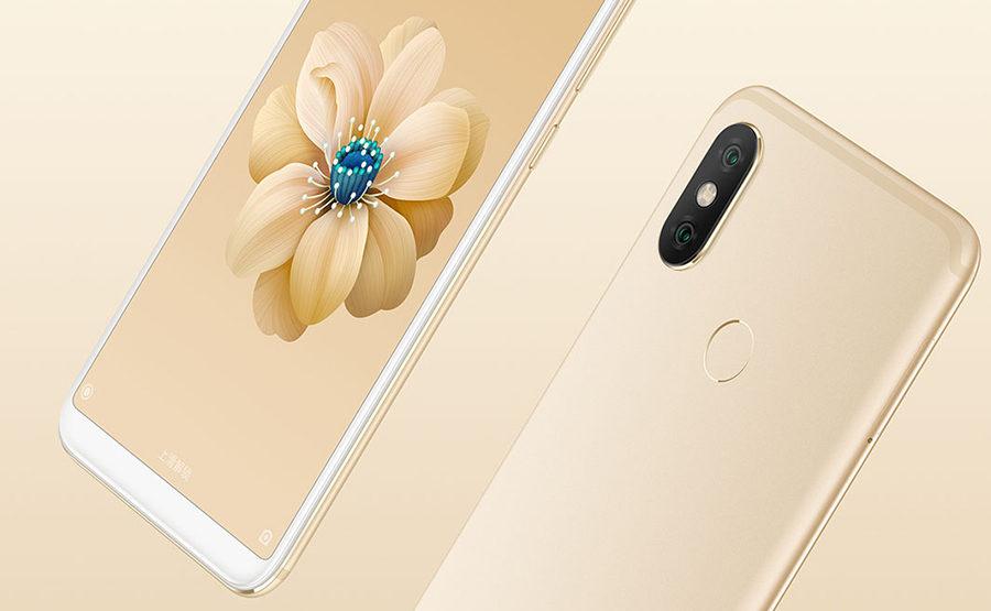 Золотой Xiaomi Mi 6X