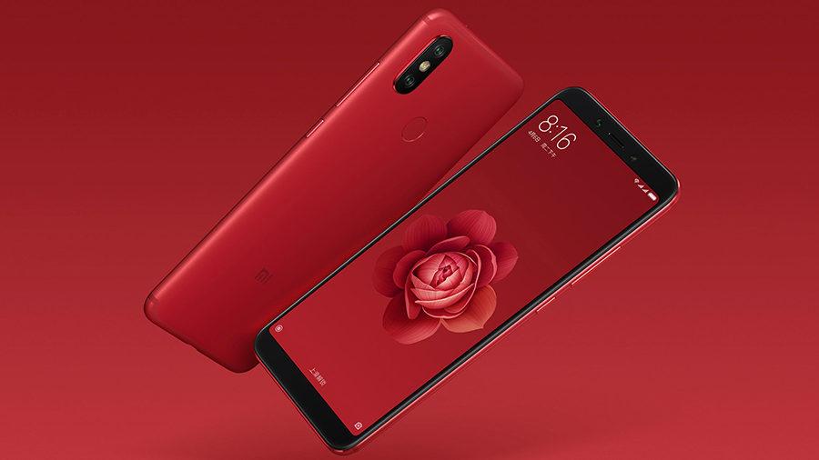 Красный Xiaomi Mi 6X