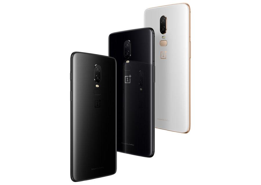 Цвета OnePlus 6
