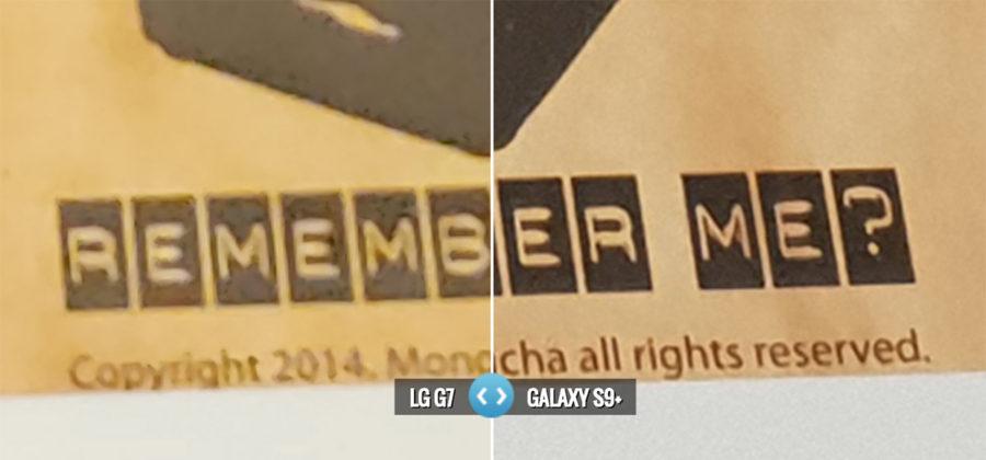 Сравнение камер LG G7 ThinQ и Samsung Galaxy S9 Plus