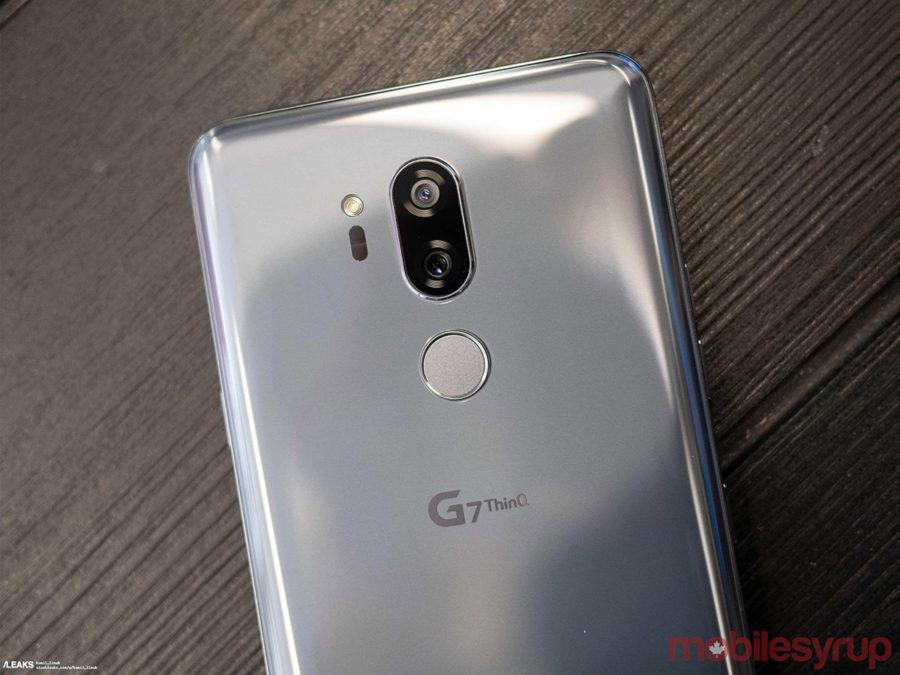 Двойная задняя камера LG G7 ThinQ