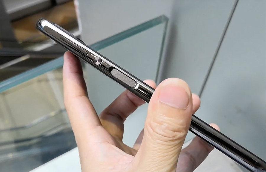 Elephone A4 сканер отпечатков пальцев